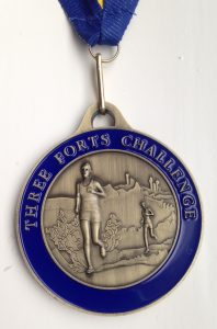 The Finisher's medal!