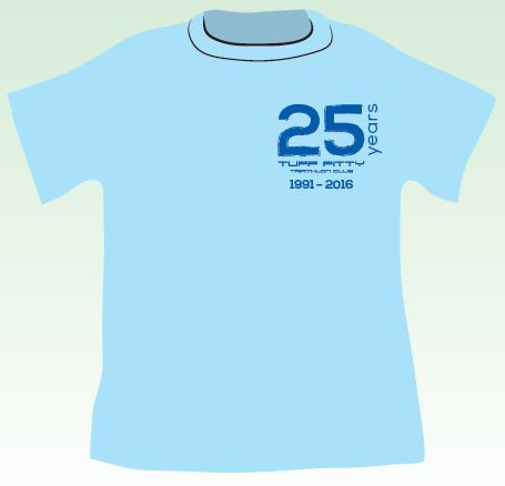 Tuff Fitty 25th Commemorative T-Shirt  (sizing added)