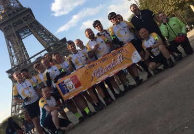 'Chestnut to Paris' Charity Cycle