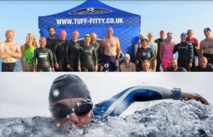 "Tuff Fitty Sea Swim @ ""The Beach"" 